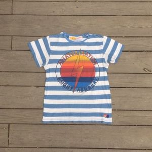 AN women's Haight Ashbury striped tee shirt
